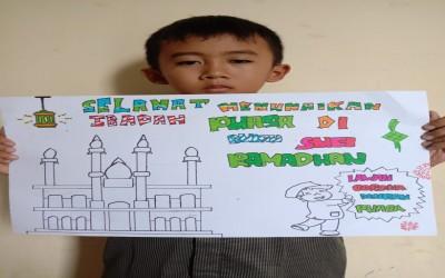 Sambut Ramadhan 1441 H Bersama Murid Kelas V SD IT Al - Madinah Kebumen