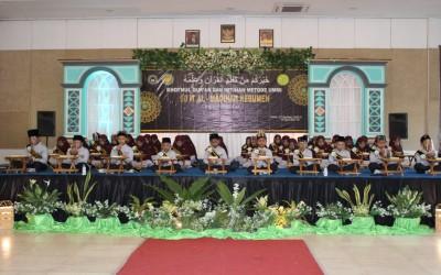 Khotmul Qur'an dan Imtihan Tahun 2021
