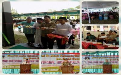 Halal Bihalal Keluarga Besar Hidayatullah dan Grand Opening SMP Integral Hidayatullah
